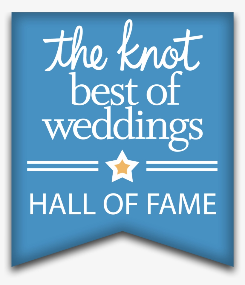 "Vows From the Heart has been awarded The Knot's ""Best Of Weddings"" and has been inducted into The Knot's ""Best Of Weddings Hall Of Fame"""
