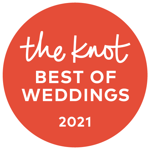 """Vows From the Heart has been awarded The Knot's """"Best Of Weddings"""" and has been inducted into The Knot's """"Best Of Weddings Hall Of Fame"""""""
